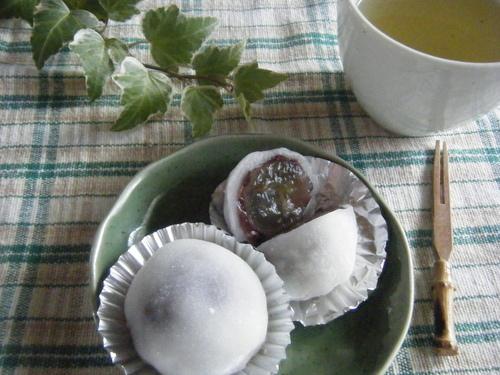 Easy with the Microwave! Grape Daifuku
