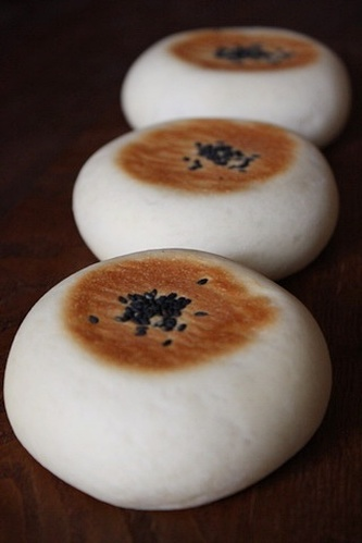 Sweet Potato Anpan Buns for Autumn