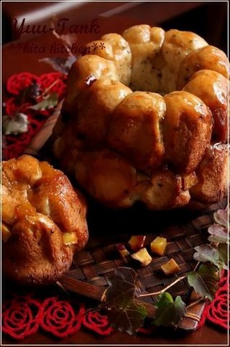 Just Like Candied Sweet Potatoes? Sesame Dough Monkey Bread