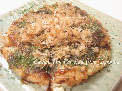 Fluffy and Soft~ Nagaimo Yam and Cabbage Okonomiyaki