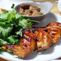 Grilled Gochujang Chicken Wings