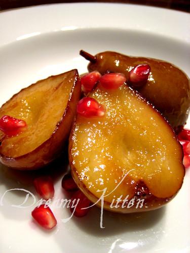 Pears Glacés