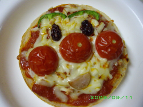English Muffin Anpanman Pizzas