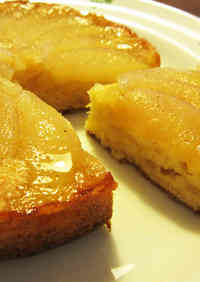 Easy & Seriously Good Asian Pear Cake