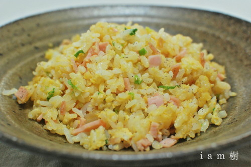 Crumbly Fried Rice 5 Minutes in the Microwave
