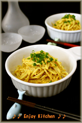Easy Bean Sprout and Tuna Salad with Curry Mayonnaise