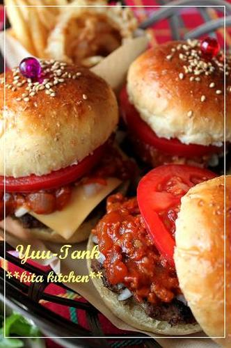 Whole Wheat Buns--Homemade Mos Burger-Style Hamburgers