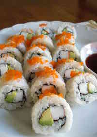Restaurant-style California Roll
