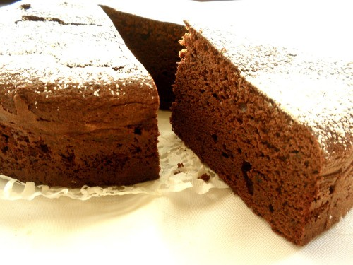 Sprout your Love Rich and Heavy Chocolate Gateau