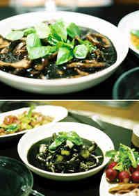 Easy Squid Ink Stew