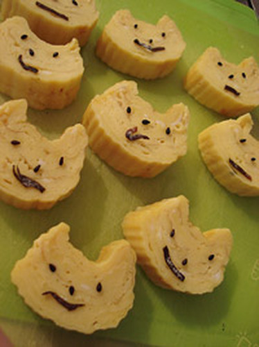 Cat Shaped Tamagoyaki