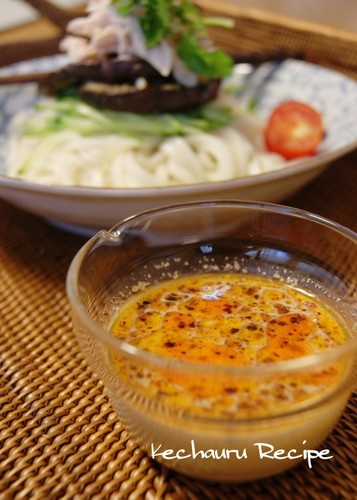 Spicy Soy Milk & Sesame Noodle Sauce