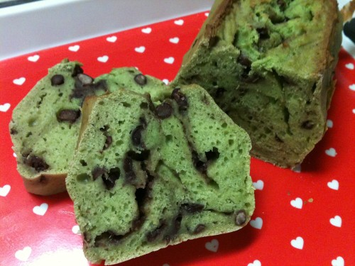 Simple and Nutritious Tofu Matcha Pound Cake