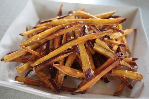 Salty Sweet Potato Sticks