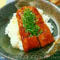 Easy and Shiny Kabayaki Pacific Saury Rice Bowl