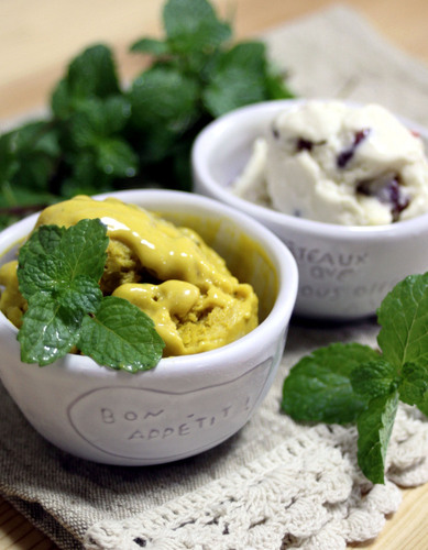 Simple Kabocha and Coconut Tofu Icecream
