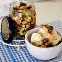 Honey Marinated Roasted Nuts