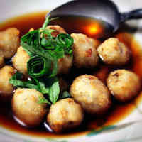 Simple is Best! Soft and Creamy Deep-Fried Taro Roots in Sauce (Agedashi)