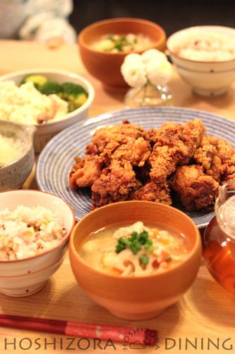 Juicy Chicken Thigh Karaage (Fried Chicken)