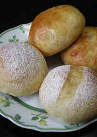 Oil-Free Bread with Miso and Milk