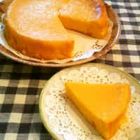 Smooth Kabocha Squash Cheesecake