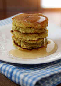 Two-Ingredient Sweet Potato Pancakes