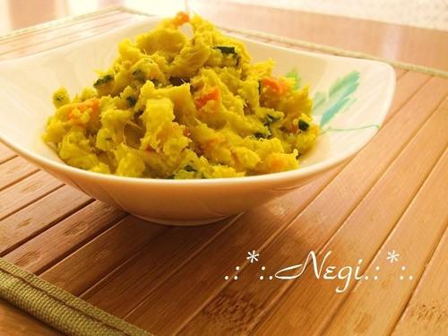 Delightful Kabocha Squash and Sweet Potato Salad