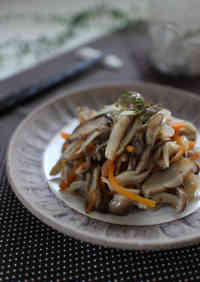 Oil-free Marinated Mushrooms