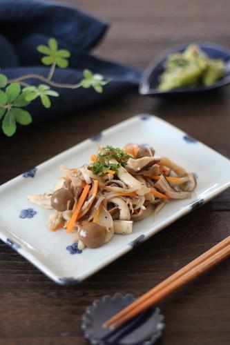 Oil-free Marinated Mushrooms