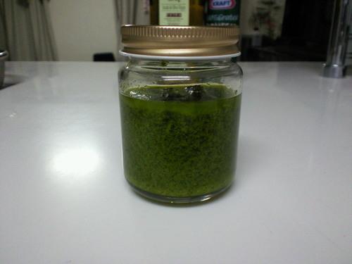 Basil Sauce Pesto Genovese