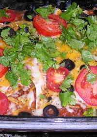 [Mexican Cuisine] Enchiladas (Burritos)