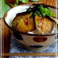 Satisfying Eggplant Rice Bowl