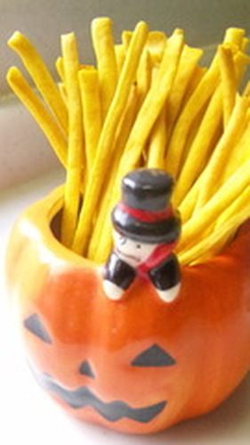 Happy Halloween! Kabocha Sticks