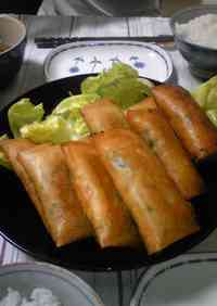 Spring Rolls with Lots of Cellophane Noodles