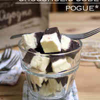 Smooth Chocolate Truffle and Cheese Cubes