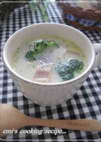 Chinese Cabbage & Bacon Milk Soup