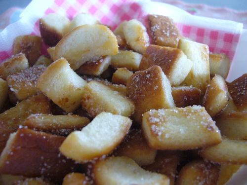 Easy Frying-pan Crispy Bread Crust Rusks