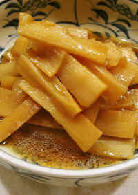 Spicy Pickled Bamboo Shoots