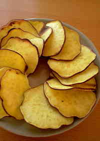 With a Pan! Asian Sweet Potato Chips
