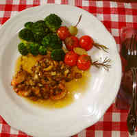Anchovy and Tomatoes with Rosemary