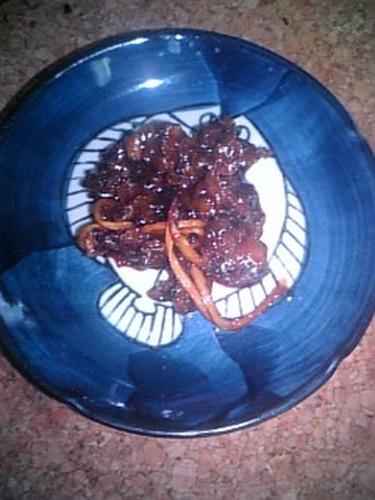 Shijimi Clam 'Tsukudani' (Savory Simmered Side Dish)