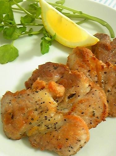 Bonito Flake and Salted Pork Sauté