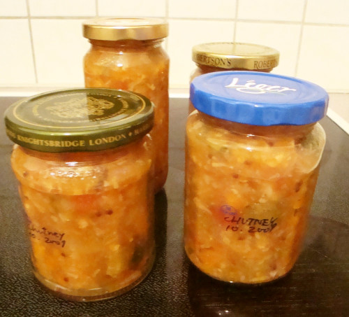 Homemade Vegetable and Fruit Chutney