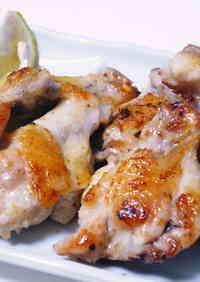 Butterflied Chicken Wings Grilled with Seasoned Salt