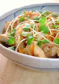 Chicken Breast Meat in Nanban Sauce