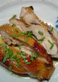 Boiled Chicken Teriyaki