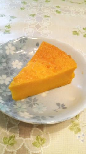 Custard Pudding Style Kabocha Squash Cake