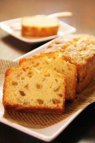 Moist Umeshu Pound Cake