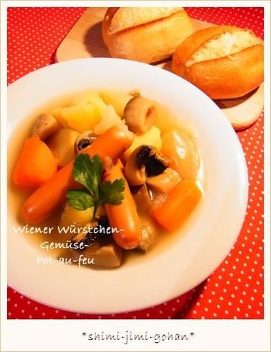 Warming Vegetable and Sausage Pot-Au-Feu