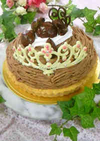 Chocolate Tiaras for Cakes